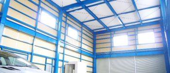 天井が高い工場・倉庫